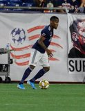 Cristian Penilla (70) during New England Revolution and Toronto FC MLS match at Gillette Stadium in Foxboro, MA on Saturday, August 31, 2019. The match ended in 1-1 tie. CREDIT/ CHRIS ADUAMA