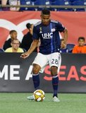 Michael Mancienne (28) during New England Revolution and Toronto FC MLS match at Gillette Stadium in Foxboro, MA on Saturday, August 31, 2019. The match ended in 1-1 tie. CREDIT/ CHRIS ADUAMA