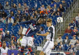during New England Revolution and Philadelphia Union in MLS match at Gillette Stadium in Foxboro, MA on Saturday, July 29, 2017. Revs won 3-0. CREDIT/ CHRIS ADUAMA