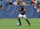 Andrew Farrell (2) during New England Revolution and Vancouver Whitecaps FC MLS match at Gillette Stadium in Foxboro, MA on Wednesday, July 17, 2019.  Revs won 4-0. CREDIT/CHRIS ADUAMA