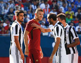 during Roma and Juventus International Champions Cup clash at Gillette Stadium in Foxboro, MA on Sunday, July 30, 2017. Juventus won on penalties after 1-1 draw before a crowd of 33,039. CREDIT/ CHRIS ADUAMA
