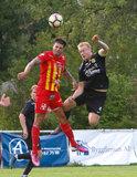 during Torslanda IK  and Orebro Syrianska in Division II Norra Gotland  match  on August 19, 2018 in Orebro, Sweden. Torslanda won 3-2. CREDIT/ CHRIS ADUAMA